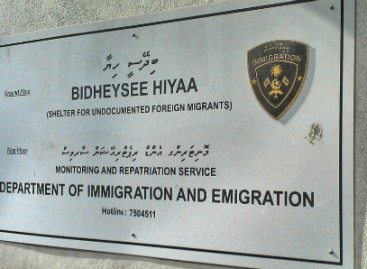 MVR450,000 stolen from Immigration