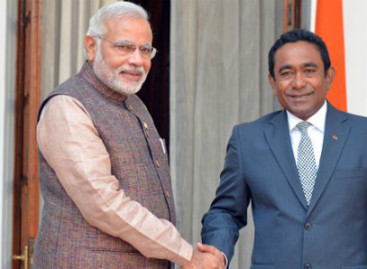 Maldives extends Independence Day greetings to India
