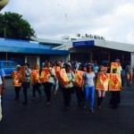Opposition women handed suspended sentences over airport protest