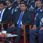 President Yameen meets Commissioner of Police