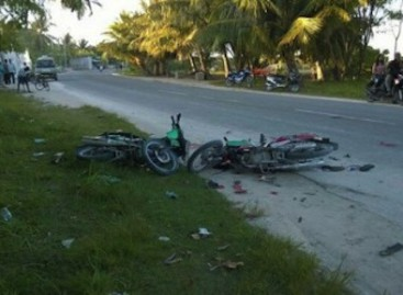 Police step up Addu traffic monitoring to prevent fatal accidents
