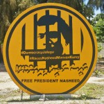 Extremists and land grabs herald trouble in paradise, says Nasheed