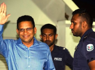 UN panel finds Maldives ex defence minister's detention illegal
