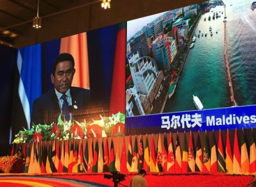 China denies planning military bases in Maldives