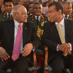 Gayoom vows to uphold constitution as Nasheed speaks of new alliance
