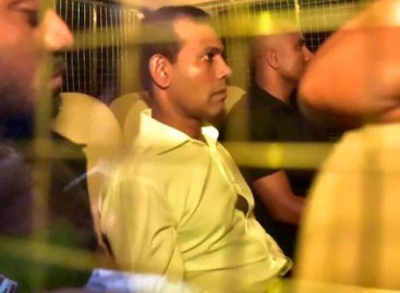 Nasheed brought to Malé for MRI scan