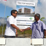 President inaugurates Hulhumalé tertiary hospital project
