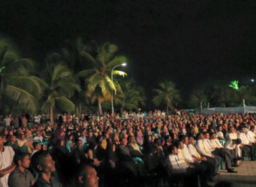 Thousands gather for first MDP rally since May