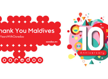 Ooredoo marks ten years in the Maldives
