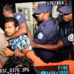 In early morning raid, police 'trespassed, harassed Nasheed's family'