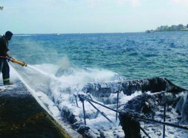 Battery malfunction causes speedboat fire, 24 injured