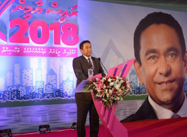 Nasheed must appeal at Supreme Court, says President Yameen