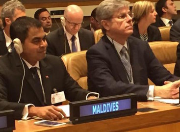 Maldives pledges 10 percent reduction in carbon emissions by 2030