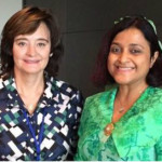 Government complains of UK refusal to meet Cherie Blair