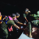 More than 300 passengers rescued at sea