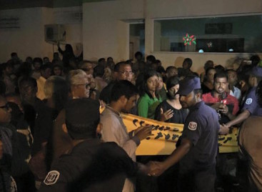 Police impose restrictions on MDP's nightly street protests
