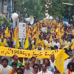 MDP stage nationwide protests calling for Nasheed's release