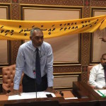 MDP MPs clamour for Nasheed's release as parliament resumes after recess