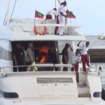 Saudi experts found trace of explosives on president's speedboat
