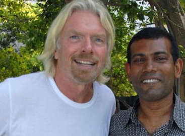 """We shouldn't rest until Mohamed Nasheed is a free man"": Richard Branson"