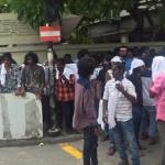 17 arrested for 'disrupting public order' released
