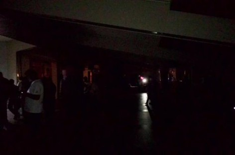 Sudden power outage at Maldives international airport