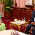 Indian external affairs minister calls on President Yameen