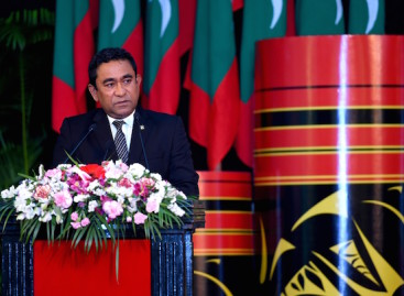 President Yameen lashes out at 'bipolar' opposition