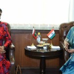 Maldives foreign minister in India amidst continuing scrutiny