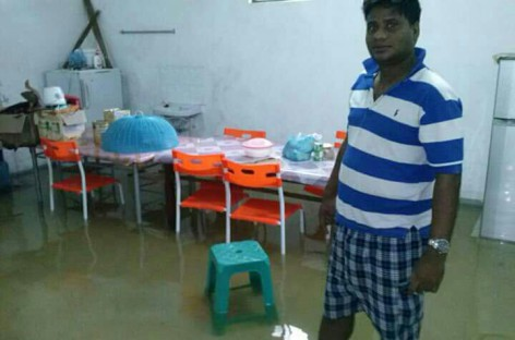 Addu City suffers worst floods in 40 years