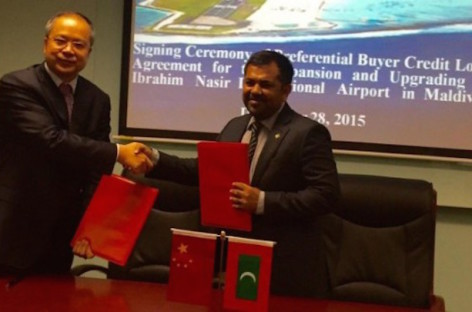 Maldives secures US$373m loan for airport development