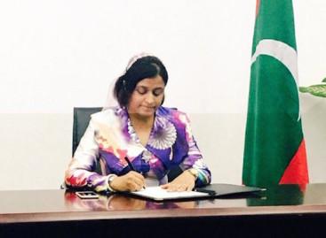 Maldives signs anti-human trafficking protocol