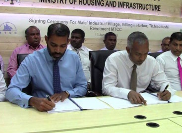 Plans unveiled for an 'industrial village' in Malé