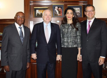 Senator McCain 'standing for human rights in the Maldives'