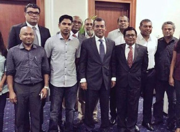 Nasheed to meet UK press on Monday