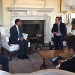 Nasheed meets UK Prime Minister in London