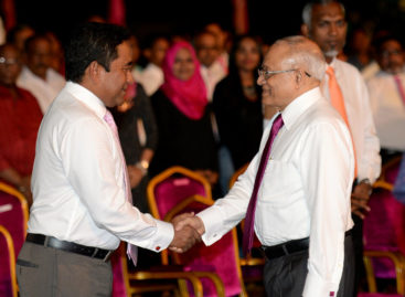 Gayoom withdraws support for Yameen