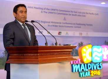 Yameen sets up new tourism firm