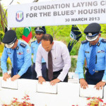 Policeman demoted for 'alleging corruption' in delayed housing project
