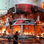 Massive fire breaks out in Malé