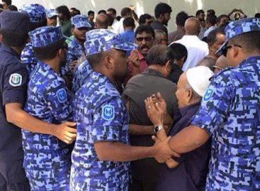 Man arrested from opposition's weekly prayer gathering