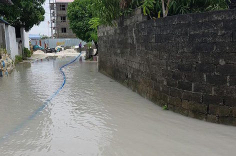 Storms cause severe flooding across Maldives