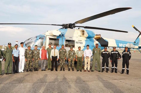 India asked to take back gifted helicopter