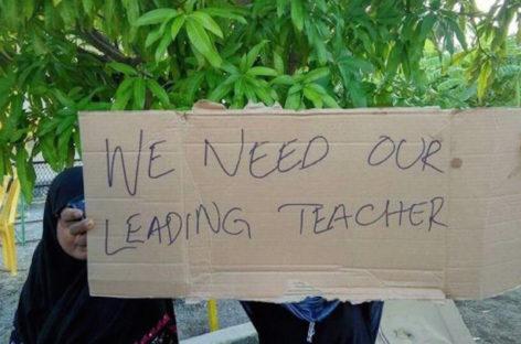 Teacher arrested on suspicion of links to terror groups