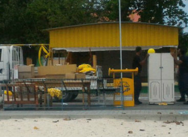 Police dismantle political party hangouts in central island