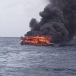 Speedboat catches fire near Biyaadhoo resort