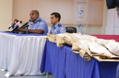 Historic drug bust nets four suspects and 29kg of heroin