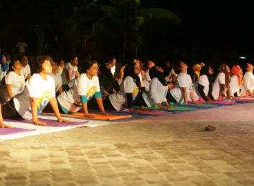 Maldives celebrates world yoga day