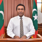 How can a sitting president be legally removed in the Maldives?