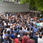 Police use pepper spray to disperse opposition prayer gathering
